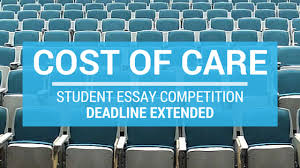 cost of care essay competition deadline extended md consultants ldquocost of carerdquo essay competition deadline extended