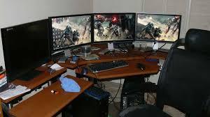 gaming corner desk. Beautiful Desk 12 Photos Gallery Of Gaming Corner Desk Measurements With D