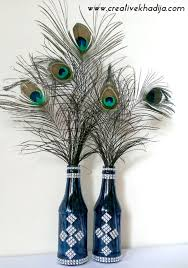 peacock feather wall decor ideas