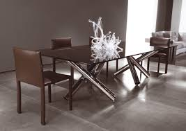 ... Charming Home Interior Design Ideas With Minotti Dining Table  Decoration : Adorable Black Glass Rectangular Dining ...