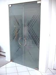 stunning 3 8 frameless glass shower door 3 8 inch shower doors glamour enclosures frosted glass