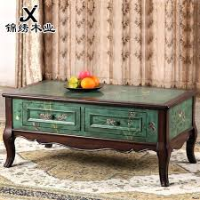 american furniture coffee table hand painted furniture living room coffee table green wood cabinet coffee table american furniture coffee table
