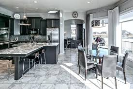 black cabinets kitchen black cabinet kitchen with open concept to dining area black kitchen cabinets ideas