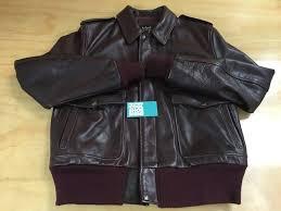 barneys new york x schott nyc pebbled grain leather jacket burdy brown red l