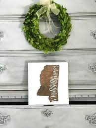wooden state wall art sign wood state sign gift wall art print home s wooden state