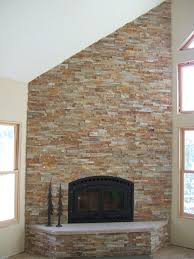 inspiring how to stone veneer fireplace cool design ideas