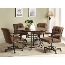 Kitchen And Table Chair Amish Kitchen Chairs Office Side Chairs Dining Room Table With Caster Chairs