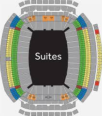 Houston Stadium Seating Chart Nrg Stadium Nrg Park