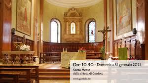 Santa Messa in STREAMING dalla chiesa di Gardolo – Domenica 31 gennaio, ore  10.30 – Parrocchie di Gardolo e Canova