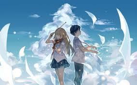anime music wallpaper piano. Simple Piano Artviolin Anime Sky Couple Notes Music Wallpaper  1680x1050 569638  WallpaperUP Intended Anime Music Wallpaper Piano