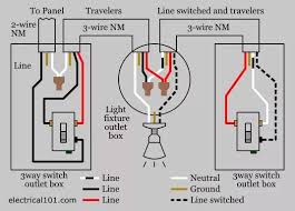 can i put two red wires together a black wire in ceiling outlet here is a three way switch wiring diagram this one shows the power coming to one of the two switches