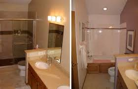 Small Picture Photo Gallery of Before and After Small Bathroom Remodel