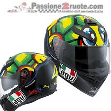 Helmet collection of valentino rossi through out his racing carrer. Agv K 3 Sv Tartaruga Turtle Vr46 Valentino Rossi Helmet Fast S For Sale Online Ebay