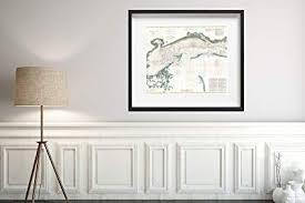 Amazon Com 1866 U S Coast Survey Chart Or Of The