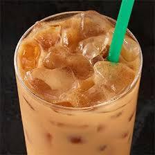 iced pumpkin e chai latte