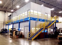 warehouse mezzanine modular office. Warehouse Mezzanine Modular Office L