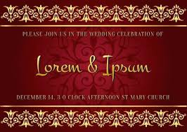 Wedding Cards Indian Style Wedding Invitation Sample And Wording