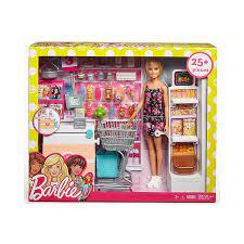 Đồ chơi Barbie - Búp bê Barbie mua sắm tại siêu thị - Mã SP FRP01
