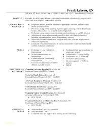 Nursing Objective Resume Registered Nurse Resume Goal Registered