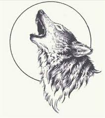 howling wolf drawing tattoo. Delighful Howling Howling Wolf Tattoo For Drawing Tattoo