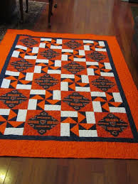 44 best Team Quilt Ideas images on Pinterest | Baby quilts ... & Chicago Bears Quilt by UltimateQuilts on Etsy Adamdwight.com