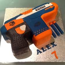 Pretty Ideas Nerf Gun Cake And Pleasing Best 25 Gun Cake Ideas