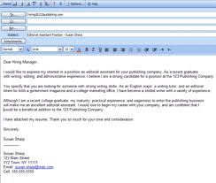Email Cover Letter Sample | | Jvwithmenow.com