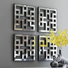 mirrored wall art