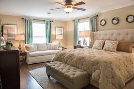 traditional bedroom ideas. Beige Traditional Bedroom With Sofa And Table Lamps Together Ceiling Fan Flush Light. Ideas R