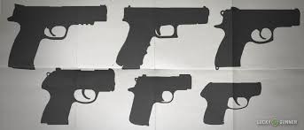 Pistol Size Chart Handgun Sizes One Size Doesnt Fit Or Apply To All