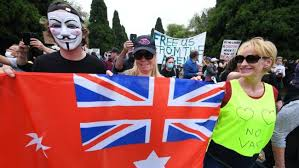 Hundreds gather in melbourne to protest the snap coronavirus lockdown which comes into force at 11.59 tonight. Police Slam Melbourne Covid Lockdown Protesters After Three Officers Injured 7news Com Au