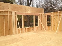 Framing Exterior Walls My Auction House Rehab
