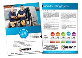 How To Do Flyers A5 Marketing Flyer