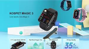 <b>Kospet Magic 3</b> discount code | Offer | Cheap smartwatch coupon ...