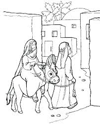Awesome Nativity Scene Coloring Pages Or Manger Printable Coloring
