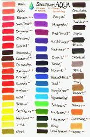 Spectrum Markers Color Chart Achievelive Co