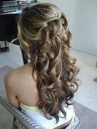 Coiffure Mariage La Demi Queue Cheveux Long Coiffure