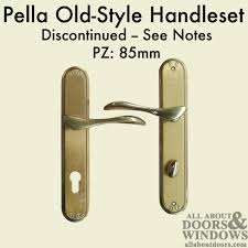 pella cifial euro style handles 85mm discontinued see notes