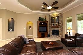 image of electric corner fireplace entertainment center