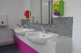 school bathroom. School Bathroom