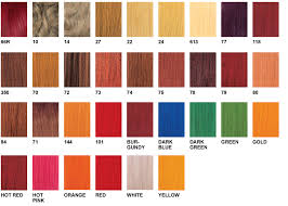 Red Hair Weave Color Chart Zury Color Charts