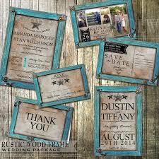 rustic wedding invitation and stationery set rustic turquoise Diy Country Wedding Invitations like this item? diy country wedding invitations templates