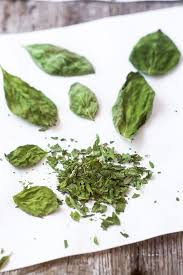 Fresh Basil To Dried Basil Conversion Chart Microwave Dried Herbs