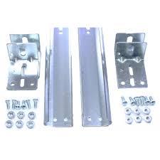 vertical track for 7 garage door pair of 2
