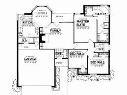 30000 sf house floor plan beautiful ranch house plan brick bungalow curb appeal square feet k