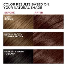 Loreal Paris Excellence Creme Permanent Hair Color 4ar Dark Chocolate Brown 2 Count 100 Gray Coverage Hair Dye