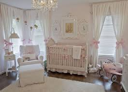 Shabby Chic Pink & White Nursery - love the soft and feminine accents!
