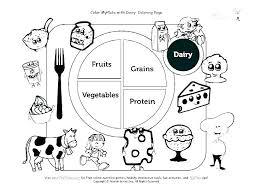 Healthy Foods Coloring Pages Healthy Food Coloring Pages Printable
