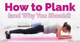 Planking Exercise For Beginners