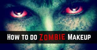 feature graphic with a closeup of a female zombie face with the words how to do